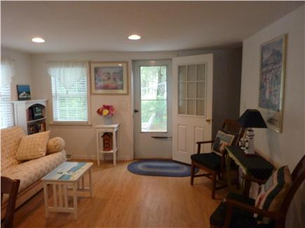 West Harwich Cape Cod vacation rental - Sitting Room with Futon/Bright and Sunny