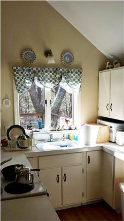 Eastham Cape Cod vacation rental - View of the kitchen.