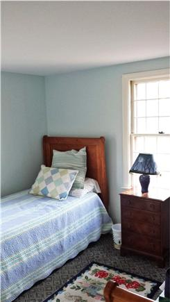 Eastham Cape Cod vacation rental - The back bedroom has two twin beds.