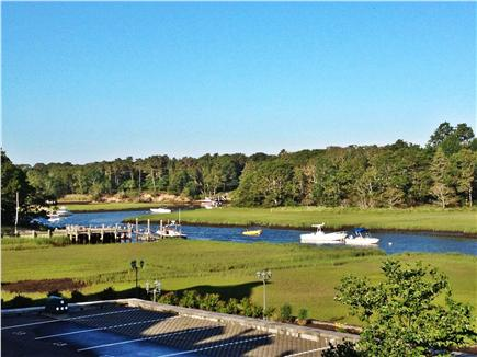 West Harwich Cape Cod vacation rental - River view from second floor balcony