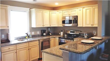 West Harwich Cape Cod vacation rental - View of kitchen from entrance
