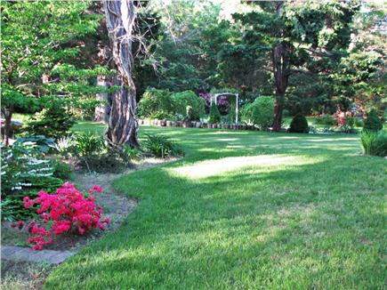 East Sandwich Cape Cod vacation rental - Private back yard and gardens