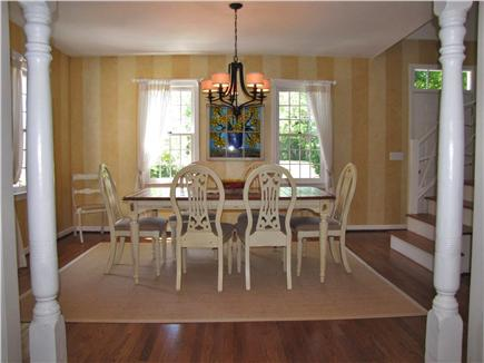 East Sandwich Cape Cod vacation rental - Separate Dining Room