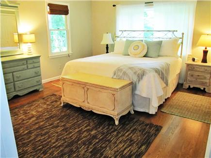 East Sandwich Cape Cod vacation rental - First floor Master Bedroom Suite king bed, w/ full bath