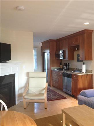 Dennis Cape Cod vacation rental - Open sitting area with Flat screen and fireplace