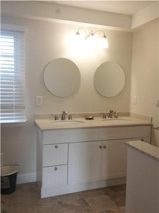 Dennis Cape Cod vacation rental - Double sink vanity