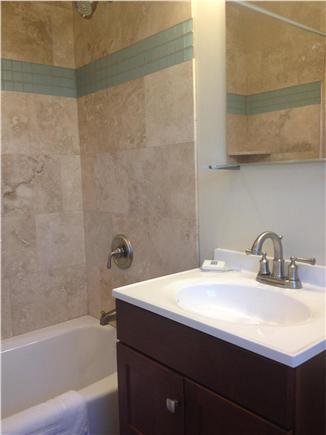 Dennis Cape Cod vacation rental - Full bath off the kitchen