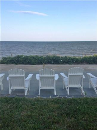 Dennis Cape Cod vacation rental - Drinks await overlooking the horizon!