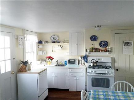 Indian Neck / Wellfleet Cape Cod vacation rental - Kitchen facing East