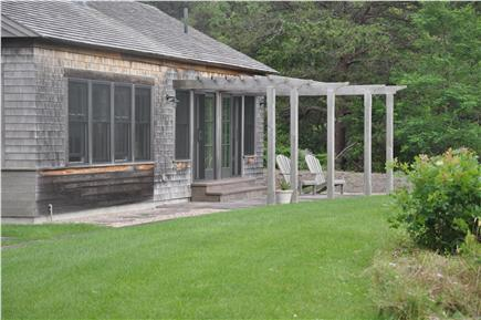 Truro Cape Cod vacation rental - Arcadia - Back of Guest House
