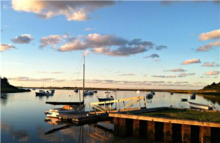 Chatham Cape Cod vacation rental - Sunrise over Oyster Pond River looking toward Stage Harbor Light