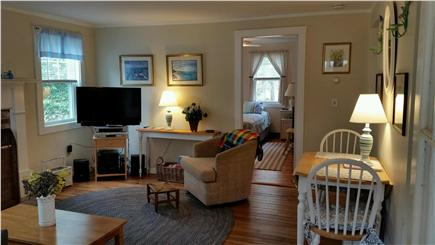 Chatham Cape Cod vacation rental - Cozy living room with lovely hearth