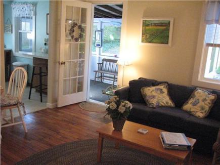 Chatham Cape Cod vacation rental - Living room view facing screen porch