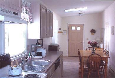 Dennis Port Cape Cod vacation rental - Unit A - Kitchen and Entry