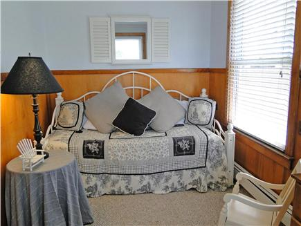 Onset on Water Street Inlet MA vacation rental - Downstairs Bedroom off LR, with Day Bed/Twin (or King) Trundle