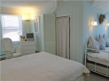 Onset on Water Street Inlet MA vacation rental - Bright Upstairs Queen & Twin Trundle Bedroom with a Water View