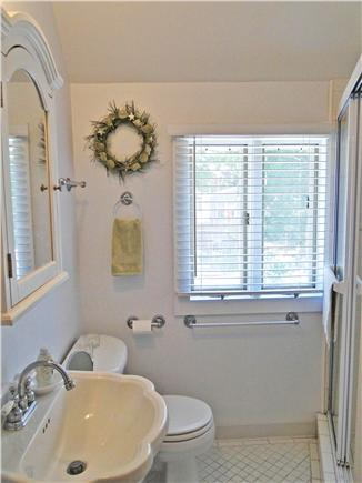 Onset on Water Street Inlet MA vacation rental - Southside 2nd Floor Bathroom w/ Tiled Shower