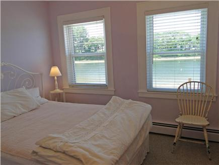 Onset on Water Street Inlet MA vacation rental - Northside 2nd Floor Front Queen Bedroom w/ TV & Water View