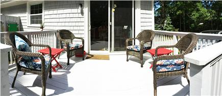 Eastham Cape Cod vacation rental - Relaxing Deck , sits 6