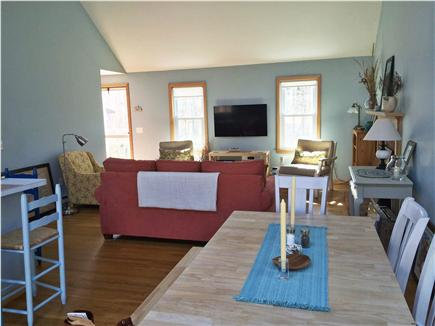 Eastham Cape Cod vacation rental - Open living space with a beach feel