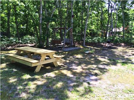 Eastham Cape Cod vacation rental - Roomy wooded lot, private setting down long driveway from road.