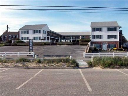 Dennisport Cape Cod vacation rental - Front view of 154 Old Wharf Road from the Glendon Road Beach lot