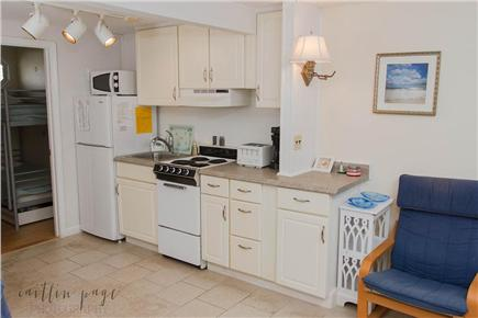 Dennisport Cape Cod vacation rental - Full kitchen including refrigerator, stove and microwave