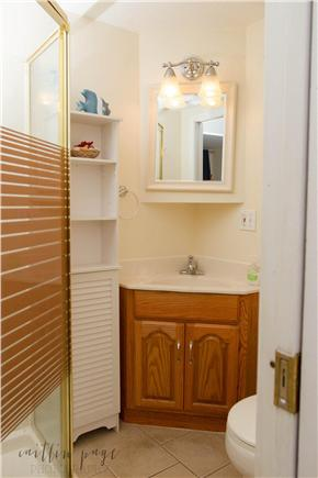 Dennisport Cape Cod vacation rental - Full bath with stand up shower