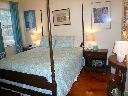 Truro Cape Cod vacation rental - Bedroom on First Level with Full Bath in Main House