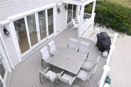Dennis Cape Cod vacation rental - An Aerial View of a Portion of the First Floor Main Deck