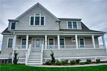 Dennis Cape Cod vacation rental - The Front of the Brand New Home (Built In 2013)