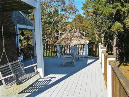 South Chatham Cape Cod vacation rental - View from One End of Deck