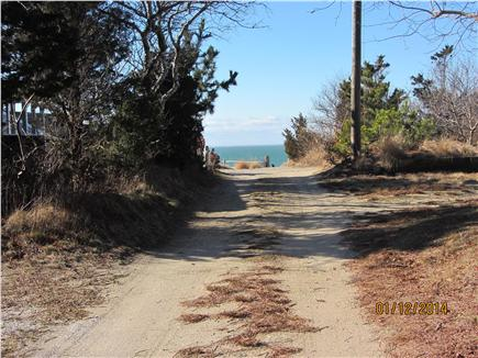 Eastham Cape Cod vacation rental - House is third cottage from the beach, just a few steps