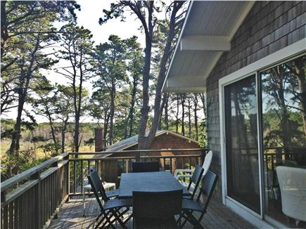 Wellfleet Cape Cod vacation rental - Deck overlooking the marsh