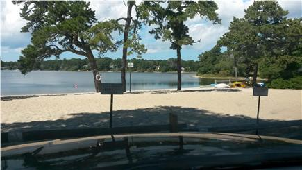 East Harwich Cape Cod vacation rental - Private Assoc beach on freshwater pond