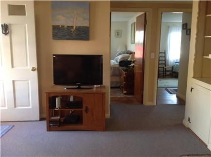 East Harwich Cape Cod vacation rental - Living Room-Media center