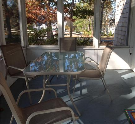 East Harwich Cape Cod vacation rental - Screened porch* Most popular room*