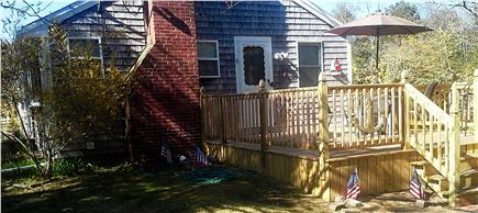 West Yarmouth Cape Cod vacation rental - Large Deck. Great for relaxing, dinning, and entertaining!
