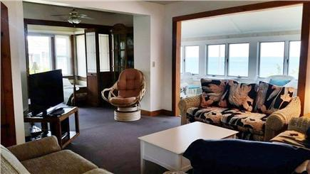 Falmouth Cape Cod vacation rental - Downstairs living room