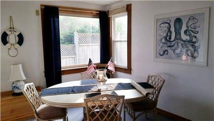 Falmouth Cape Cod vacation rental - Downstairs dining room