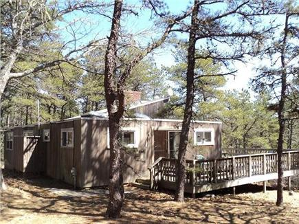 Wellfleet Cape Cod vacation rental - Home is in a private, quiet location.