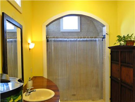 Pocasset, Bourne, Cape Cod Cape Cod vacation rental - Master bath features high ceilings and a stunning double shower
