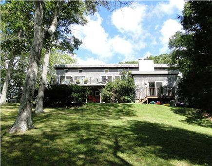 Pocasset, Bourne, Cape Cod Cape Cod vacation rental - Rolling lawns and mature trees make this truly a tranquil setting