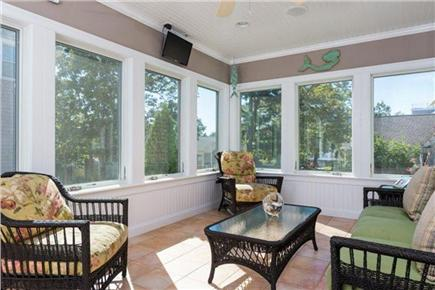 Mashpee, Popponesset Cape Cod vacation rental - Sun Room with water view