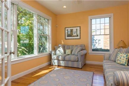Mashpee, Popponesset Cape Cod vacation rental - Den with pullout sofa bed