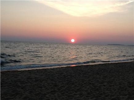 North Eastham Cape Cod vacation rental - Cooks Brook Beach at Sunset