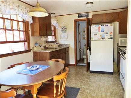 North Eastham Cape Cod vacation rental - Sunny kitchen to share a meal with your family.