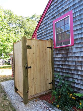 North Eastham Cape Cod vacation rental - Enjoy the outdoor shower