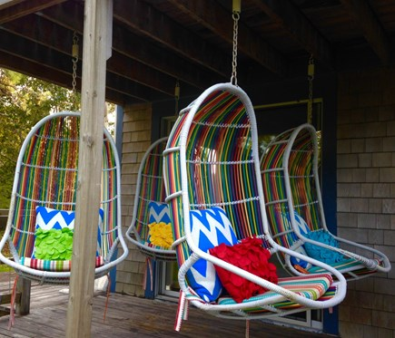 Eastham Cape Cod vacation rental - Hanging Chairs