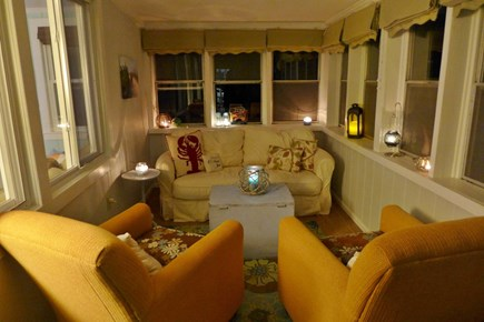 Eastham Cape Cod vacation rental - Enclosed porch